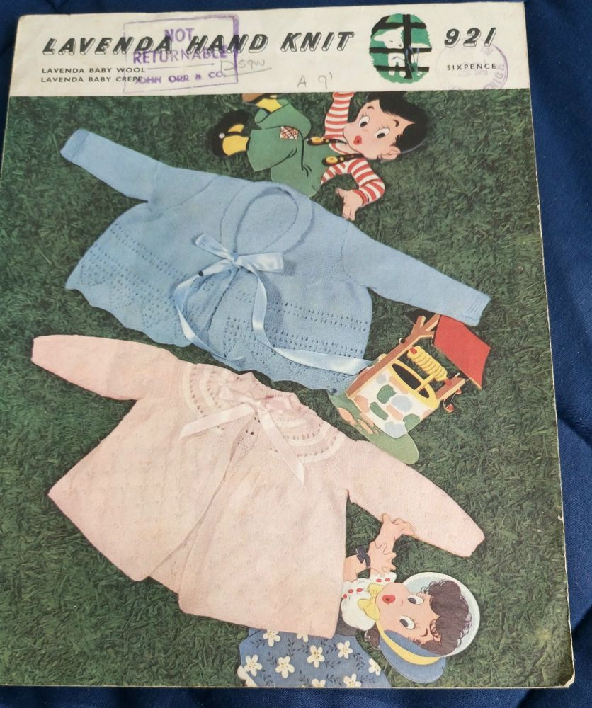 04caa10aa Pin by Angela Forbes on Vintage Knitting   Crochet Patterns ...