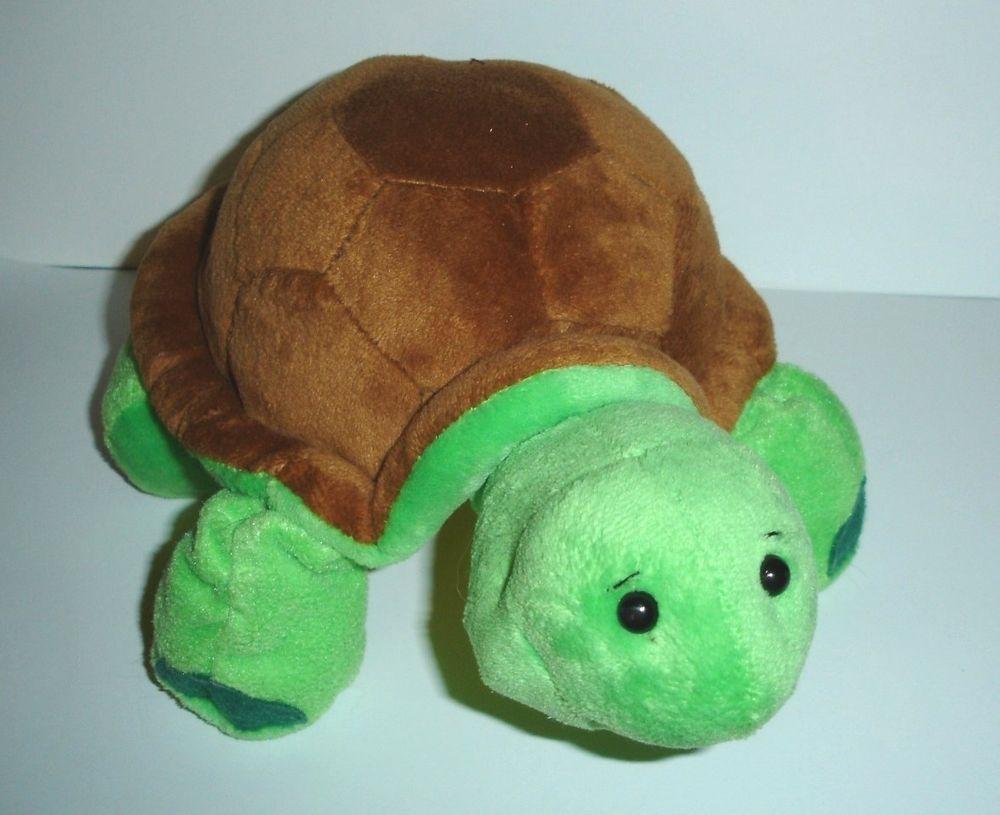 Ganz Webkinz Green TURTLE HM150 Plush No Code Stuffed Animal Toy #GANZ