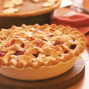 Berry Apple Pie Recipe- Recipes  Our active family is full of big eaters. So I'm happy for our raspberry patch, our apple orchard and pie recipes like this one. You can substitute frozen berries for fresh.—Heidi Jo Keranen, Bruno, MN