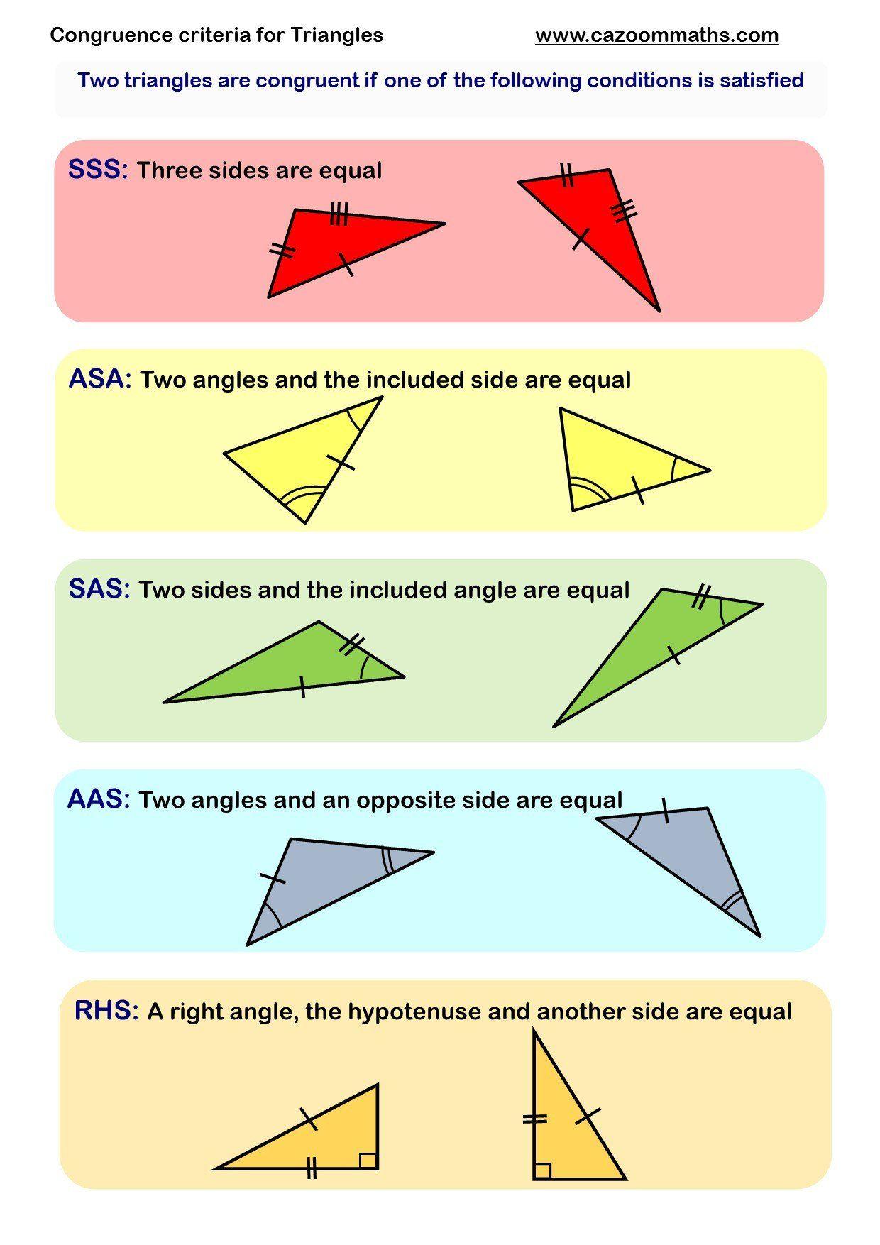 Angle Angle Similarity Worksheet Congruence And Similarity Worksheets In 2020 Geometry Worksheets Math Worksheet Education Math
