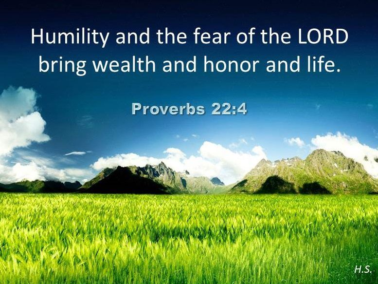Proverbs 22:4 | Scripture - Proverbs | Hd nature wallpapers