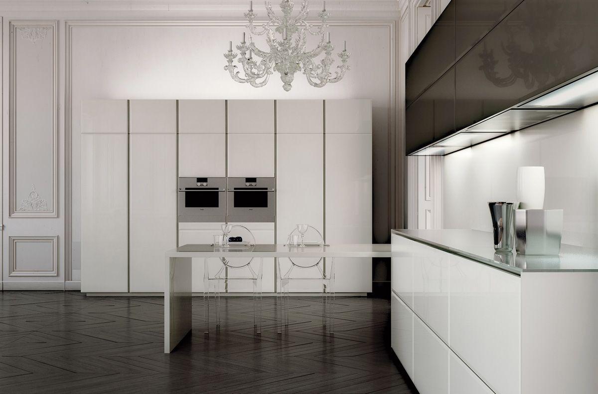العصرية والفخامة في 10 مطابخ مودرن بتصميمات إيطالية مجلة ديكورات عالم من ديكور المنازل و التصميم ا Kitchen Fittings Contemporary Kitchen Minimalist Kitchen