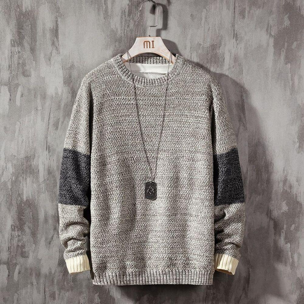 2019 nuevo suéter de manga larga para hombres, Otoño Invierno ...