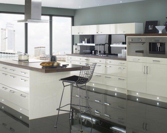 Peinture Cuisine Idées De Choix De Couleurs Modernes - Meuble cuisine profondeur 40 pour idees de deco de cuisine