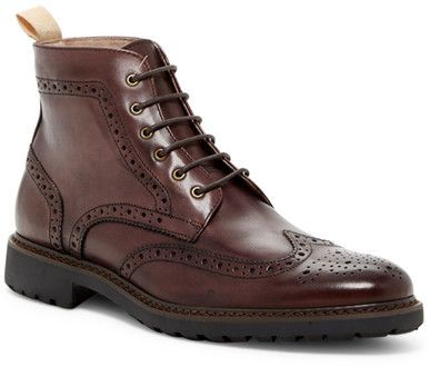 Rush By Gordon Rush Wingtip Lace-Up Boot