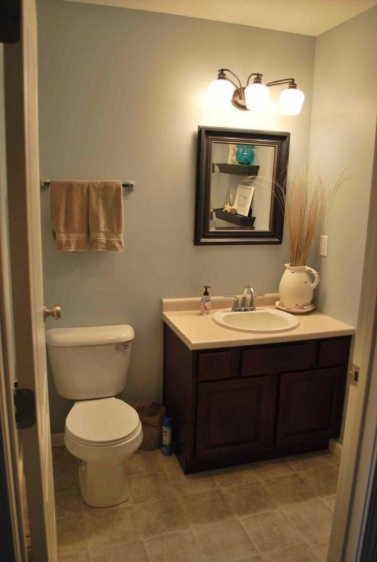 45 Elegant Bathroom Decorating Ideas Half Bathroom Decor Half Bathroom Small Half Bathrooms