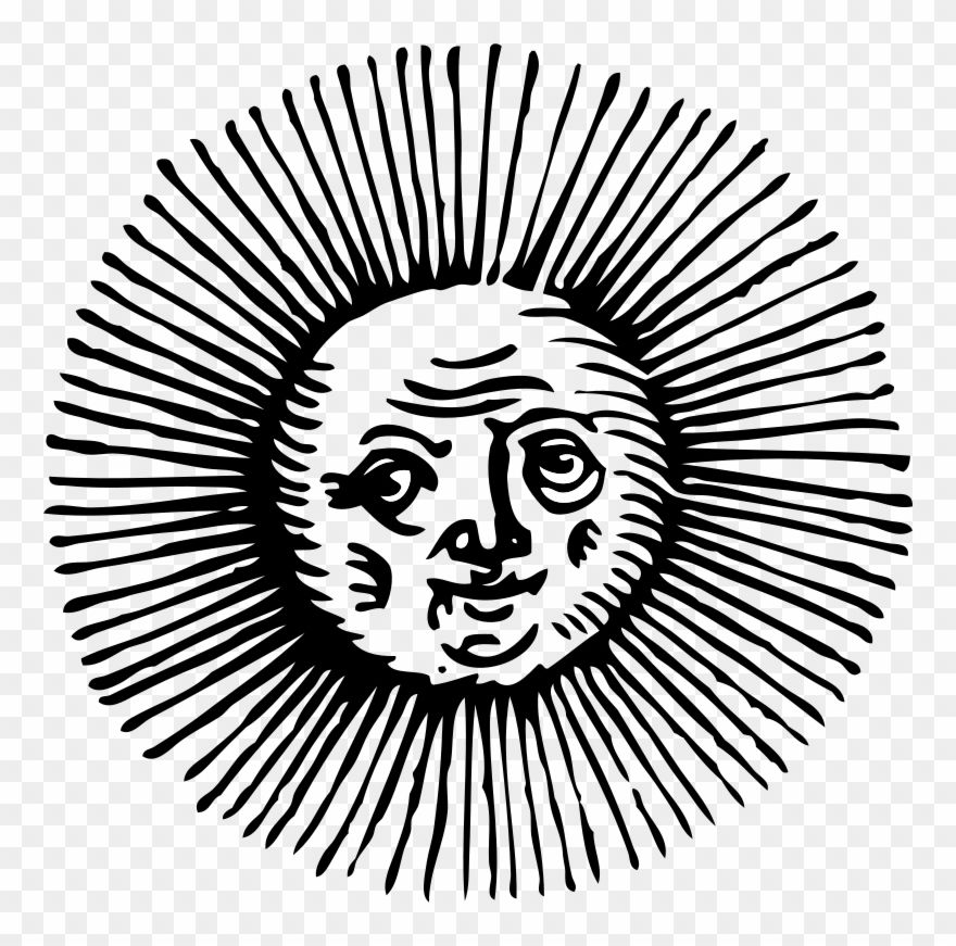 Sun Clipart Black And White Old Sun Cartoon Png Download 51210 Is A Creative Clipart Download The Transpa Clipart Black And White Cartoons Png Clip Art