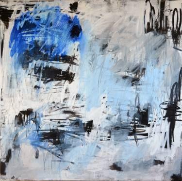 "Saatchi Art Artist Marie-José Domenjoz; Painting, ""Multitude6"" #art"