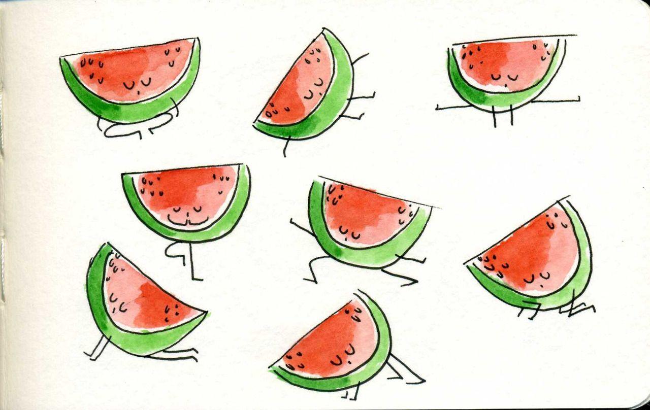 Yoga Fruits Marta Prior 3 Fruit Yoga Oefeningen Groenten