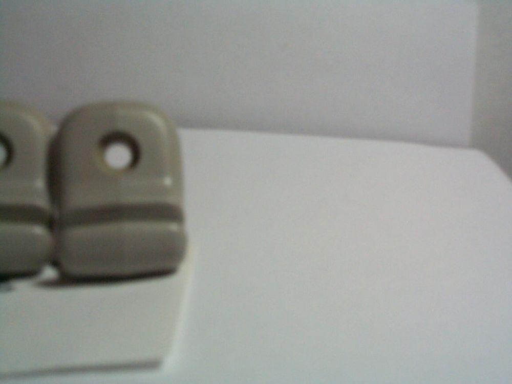 Mazda Protege SUN VISOR CLIP gray 2 pc set holder bracket oem mp1 #MAZDAPROTEGE