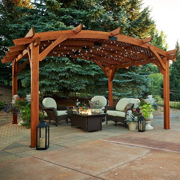 Sonoma 16 Pergola Redwood Outdoor Pergola Pergola Designs Building A Pergola