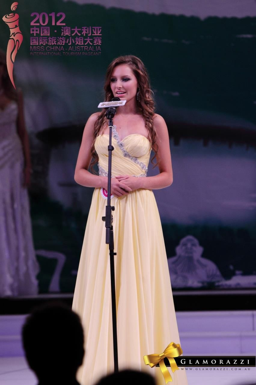 2012 Miss China-Australia International Tourism Pageant #misstica @GlamorazziShop #glamorazzi #tourism #misschinaaustralia