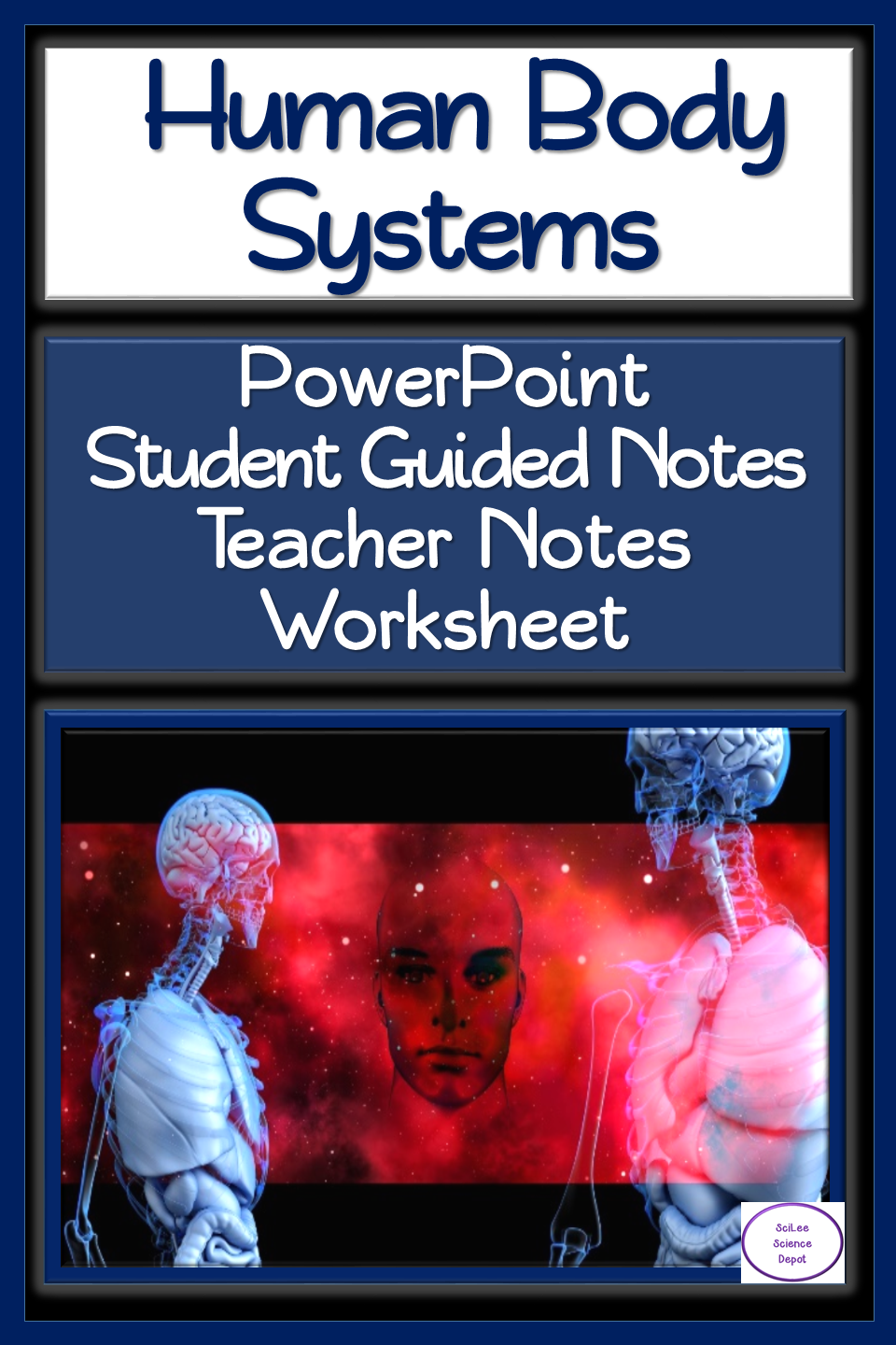 Human Body Systems Lesson Powerpoint Guided Notes Worksheet Human Body Systems Body Systems Lessons Body Systems