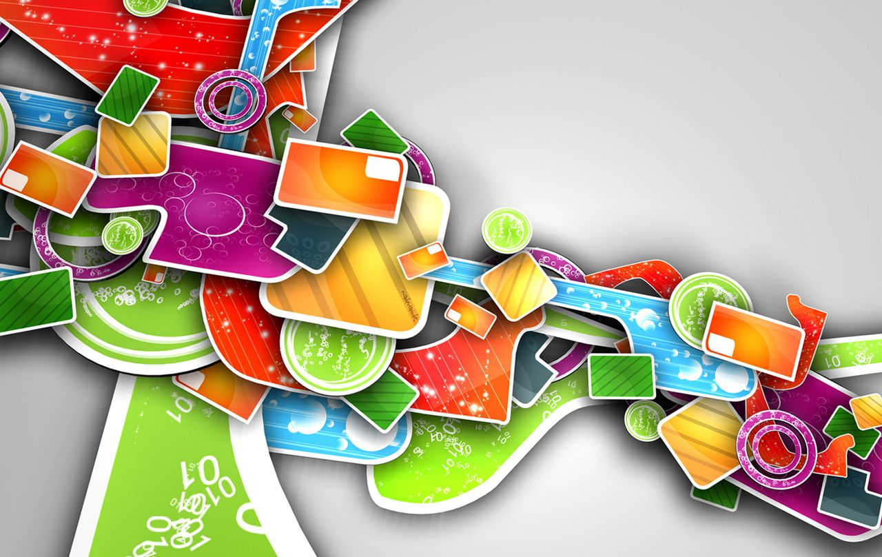 Pics photos 3d colorful abstract background design - Abstract Wallpapers For Desktop Backgrounds