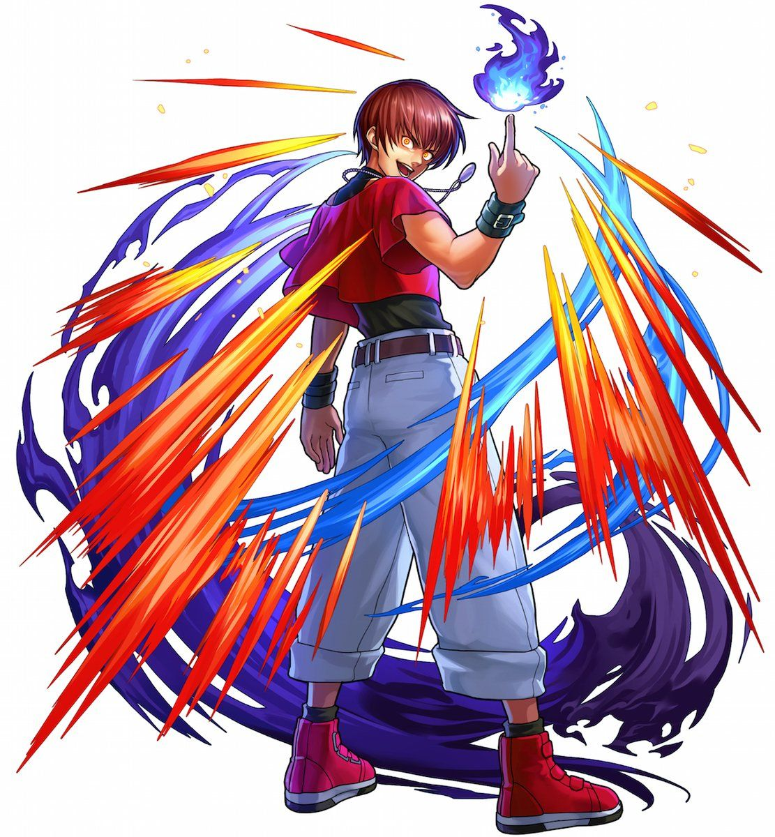 Orochi Chris Kof Chris Kof Kof Personajes De Street Fighter