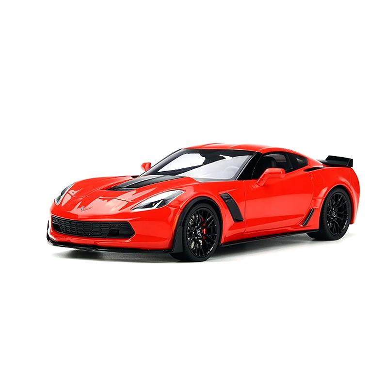 Gt Spirit 1 18 2017 Chevrolet Corvette Z06 Hard Top Red Us005 Chevrolet Corvette Z06 Chevrolet Corvette Corvette Z06