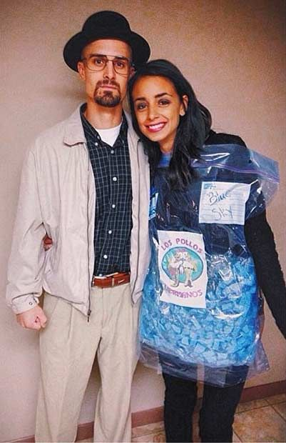 21 diy couples costumes for halloween - Halloween Costume Breaking Bad