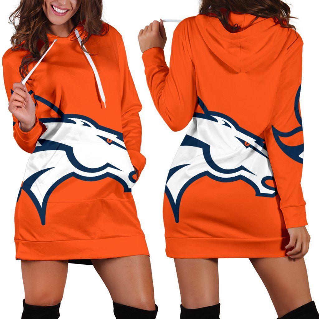 reputable site 07d88 a9e48 Denver Broncos Hoodie Dress | Denver Broncos | Denver ...