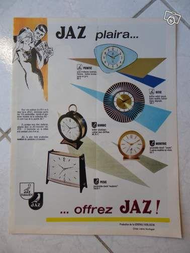 Publicité Jaz 1963 Collection Val-de-Marne - leboncoin.fr