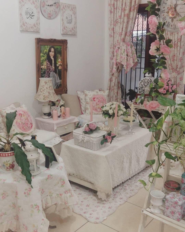 Desain Ruang Tamu Minimalis Shabby Chic Dengan Tanaman Style Homes