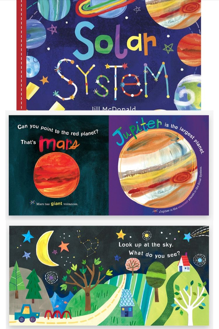 Hello World Solar System Board Book With Images Board Books
