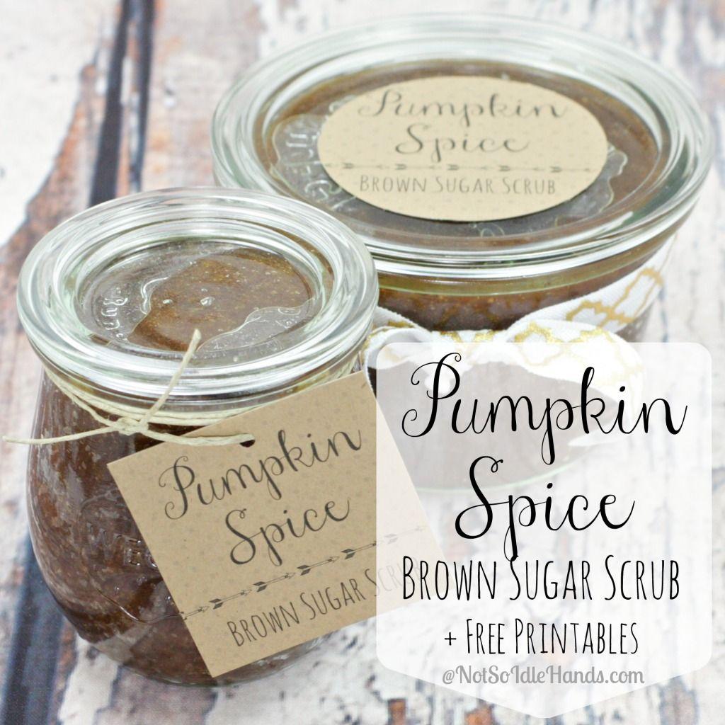 Pumpkin spice brown sugar scrub free printable notsoidlehands pumpkin spice brown sugar scrub free printable notsoidlehands negle Gallery