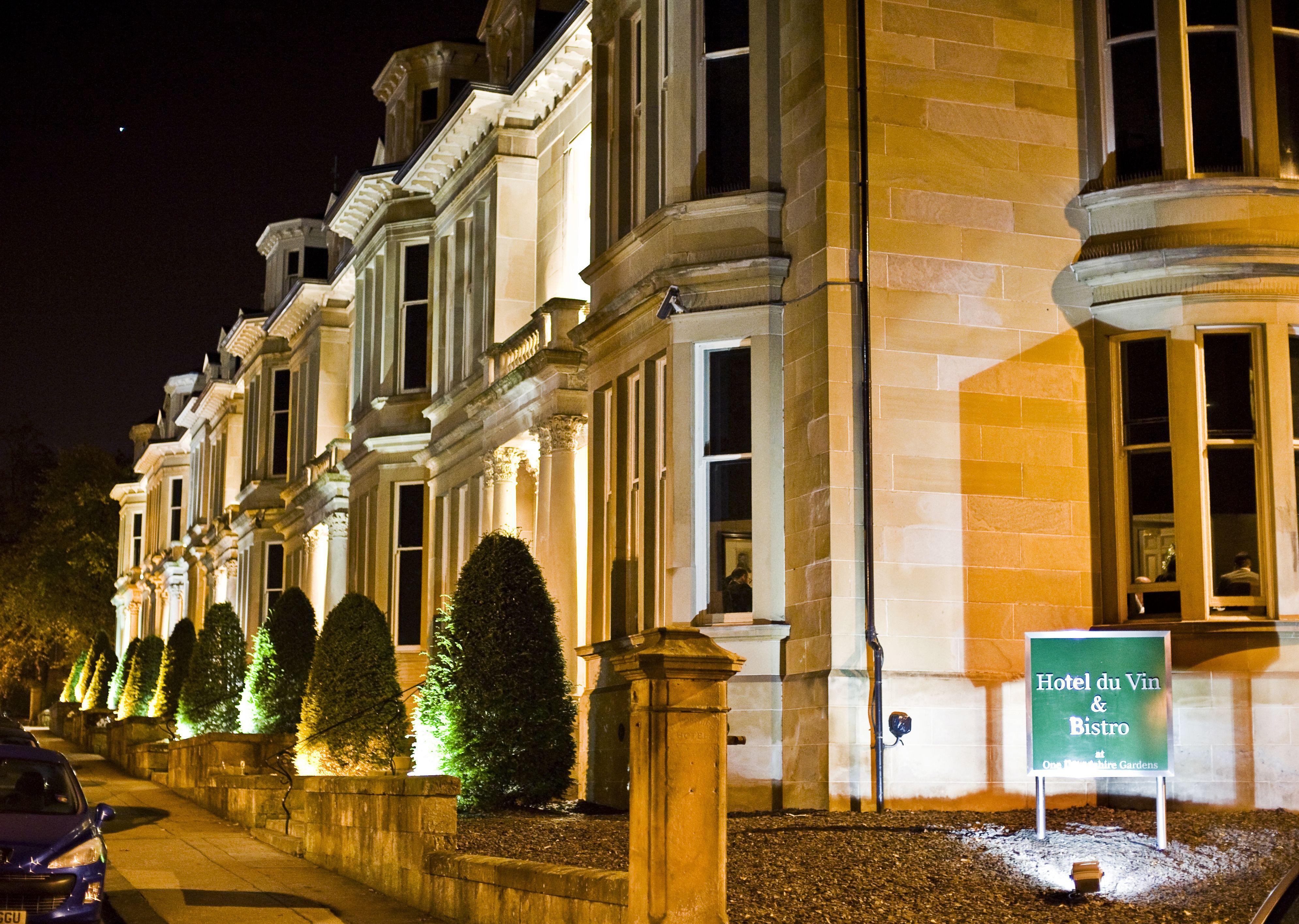 Hotel Du Vin, Glasgow at night | Glasgow | Pinterest | Loch lomond