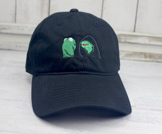 78acdba64a6c1 Evil Kermit   Kermit vs Constantine Dad Hat Embroidered Baseball Cap Curved  Bill 100% Cotton Consc