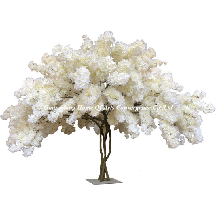 Gnw Bls1605004 Hot Selling Cheap Artificial Cherry Blossom Tree Artificial Cherry Blossom Tree Blossom Trees Wedding Decorations