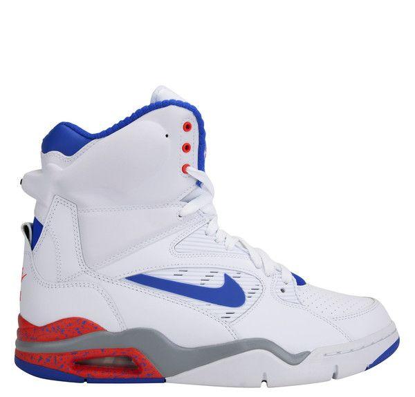 Nike Air Command Force White Lion Blue Bright Crimson Wolf Grey ... 46d576bd7