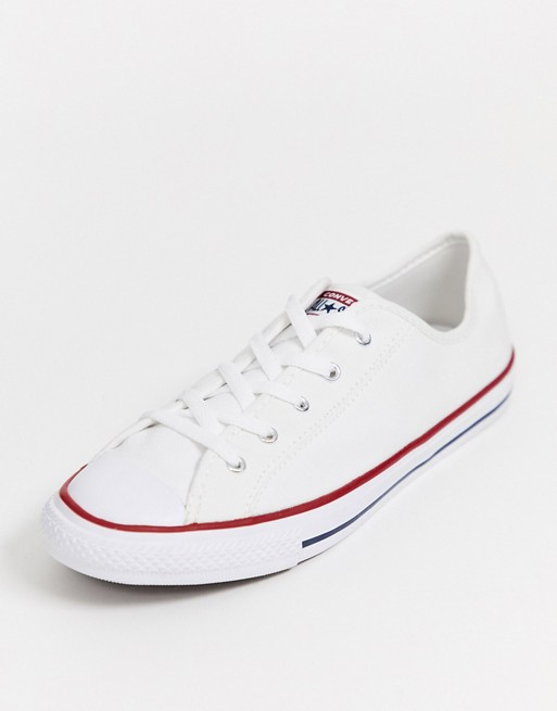 Converse White Chuck Taylor All Star Dainty Sneakers in 2020 ...