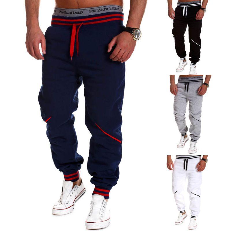 2015 New Arrival Men Pants Sports Running Gym Sweatpants Soccer Printing  Casual Trouser Jogging jogger pant