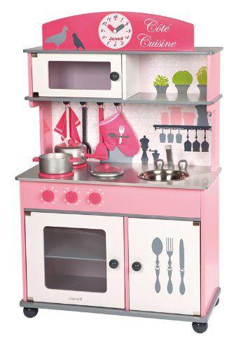 Janod j06565 jouet en bois cuisine cote cuisine - Cuisine enfant jouet club ...