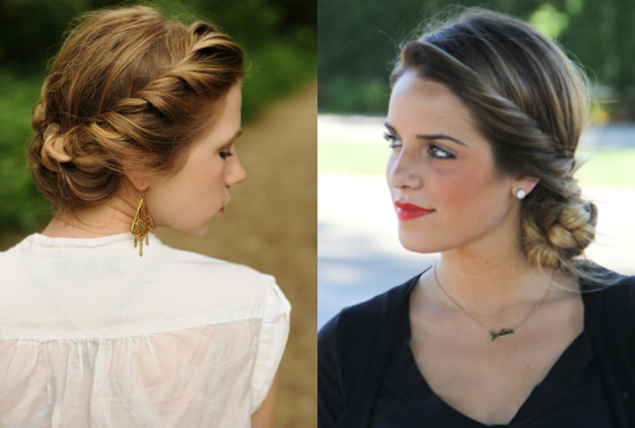 Sensational 1000 Images About Hairstyles On Pinterest Updo Updos And Cara Short Hairstyles Gunalazisus