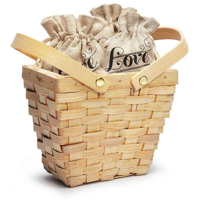 Mini Picnic Basket Bulk Pricing 650 For Less Than 12 Favors