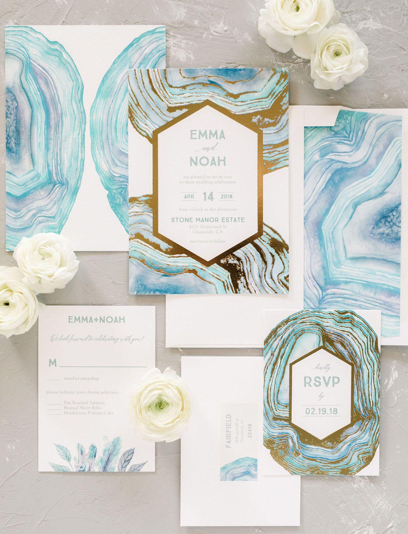 Custom Wedding Invitations with The Wedding Shop by Shutterfly