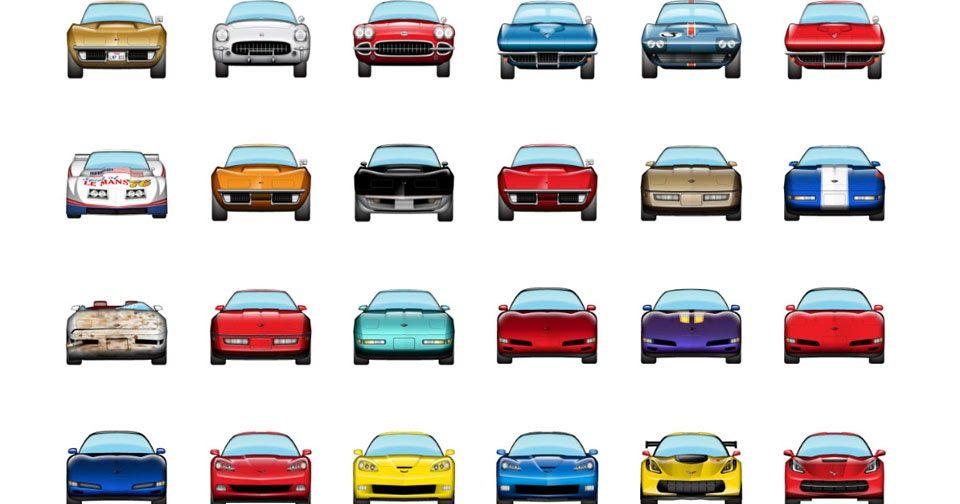 Enjoy This New Corvette Emoji Pack For Ios 10 Carscoops Corvette Emoji Ios 10