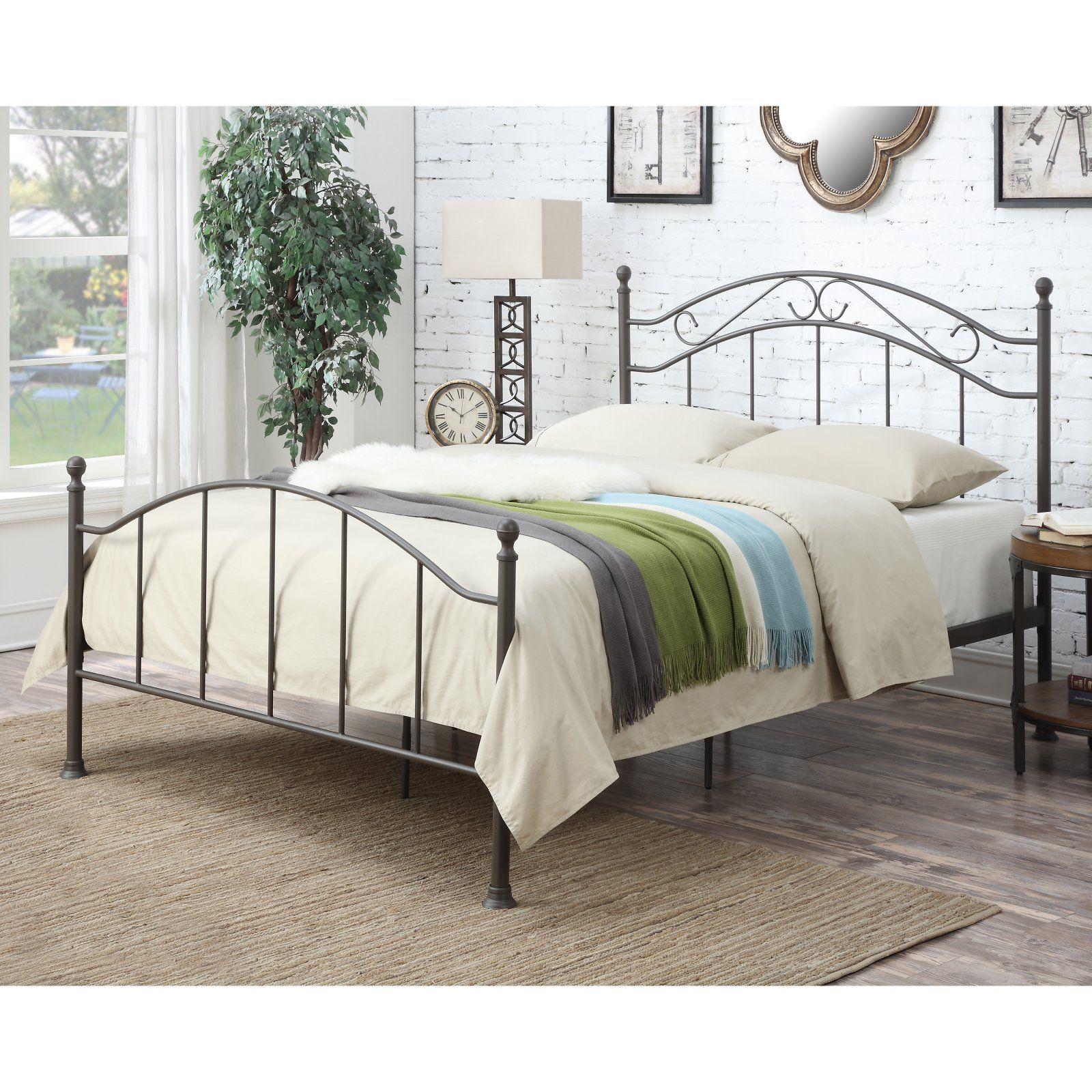 Home Meridian Norwell Standard Queen Bed Queen metal bed