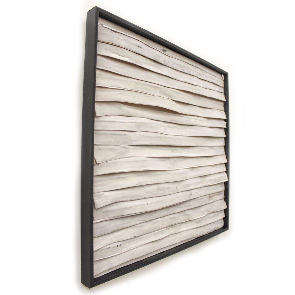 Wanddecoratie-stripes-naturel woonaccessoires of muurdecoratie ...