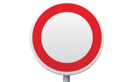bf16a7d0b22e1 Baffling French road signs  Take the test  What is this red circle ...