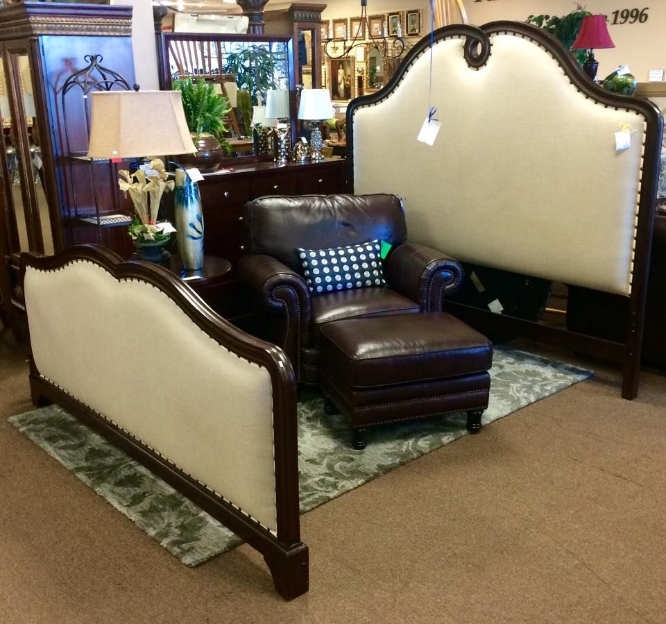 This King Size Bed is from Robb & Stucky 1699 King size