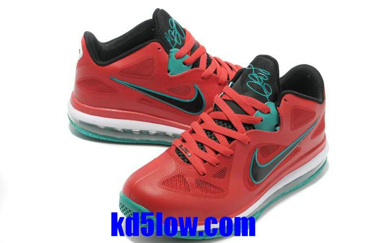 85199bdaf26 Action Red Lebron 9 Low Liverpool Black White New Green 510811 601 Lebron  James Basketball Shoes
