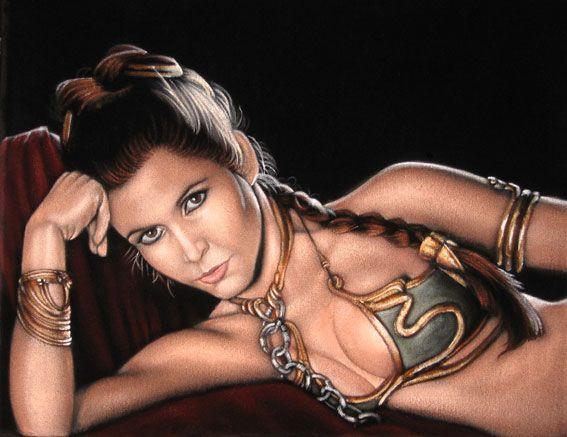 Princess Leia- Jabba's Slave By BruceWhite.deviantart.com