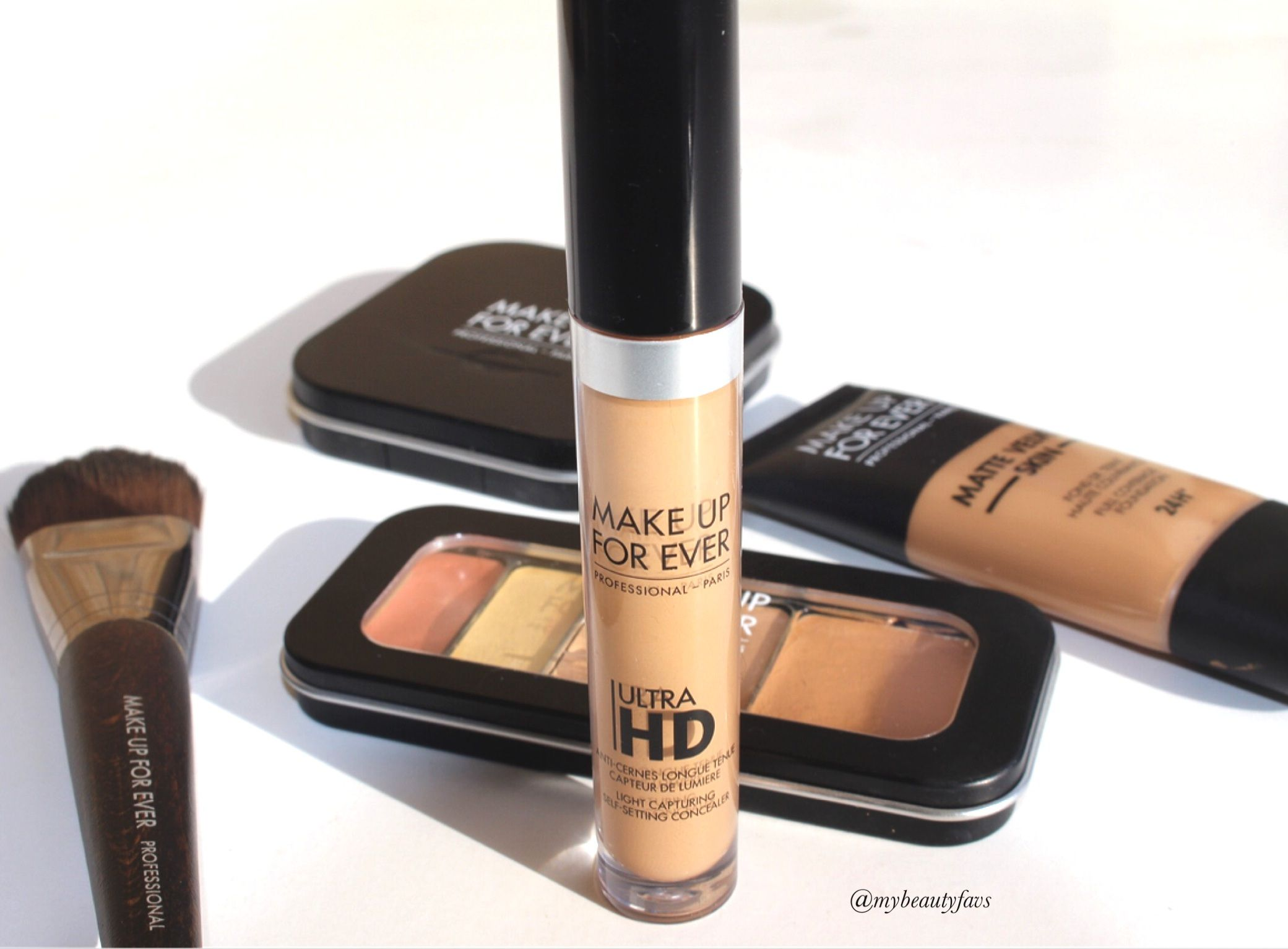 MUFE Ultra HD SelfSetting Concealer Shade 44 Review