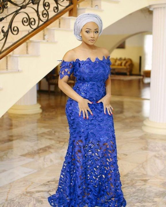 Nigerian Lace Styles For Wedding [Updated May 2019