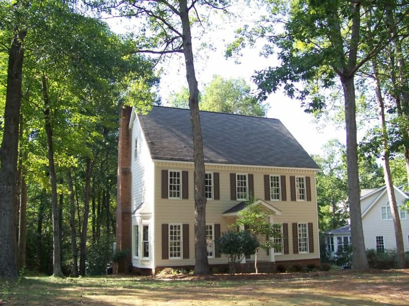 Cary Nc Real Estate Colonial And Traditional Heaven In Thornewood