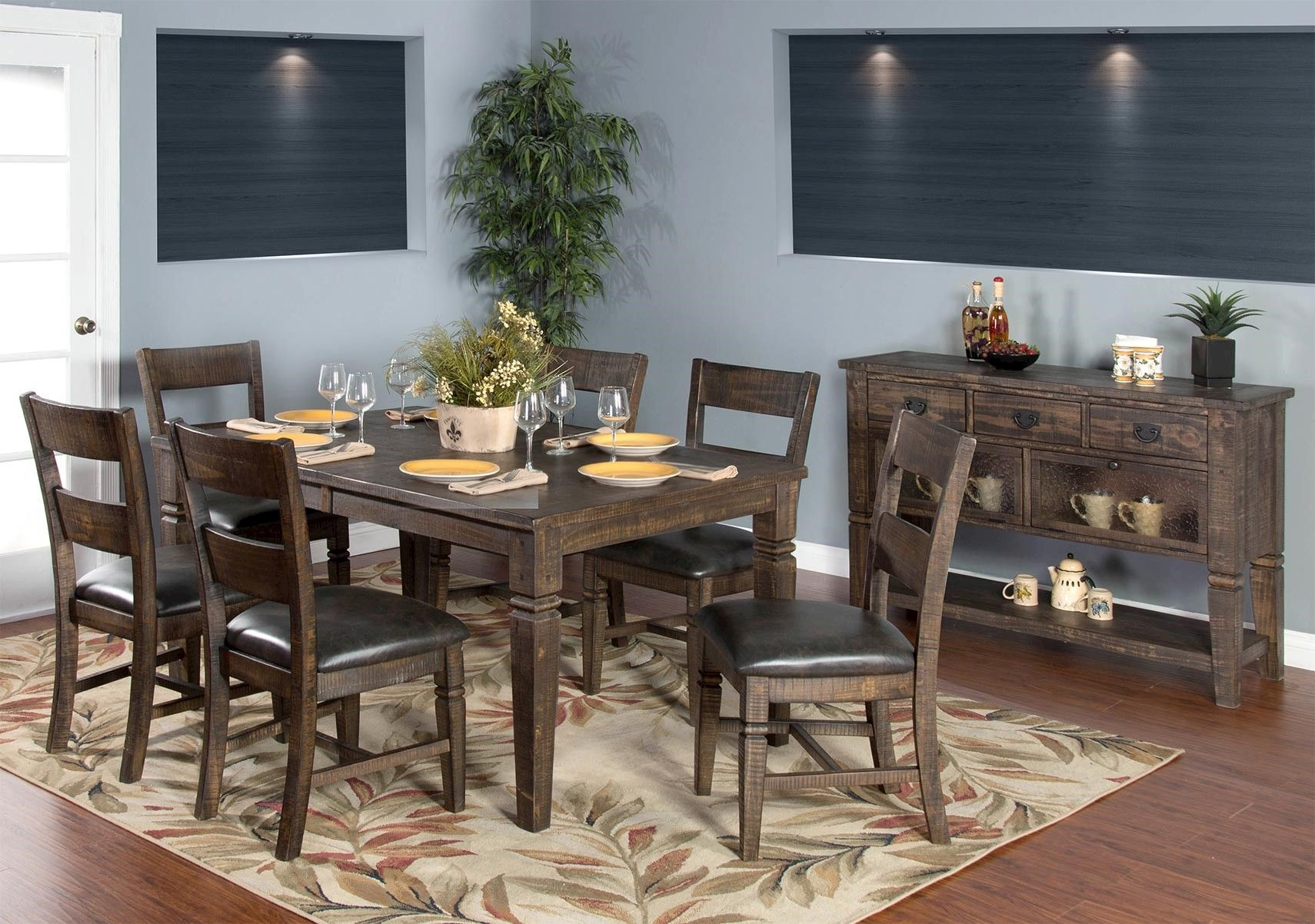 Lacks Homestead 7 Pc Dining Set Dining Room Sets Home Decor Dining Table