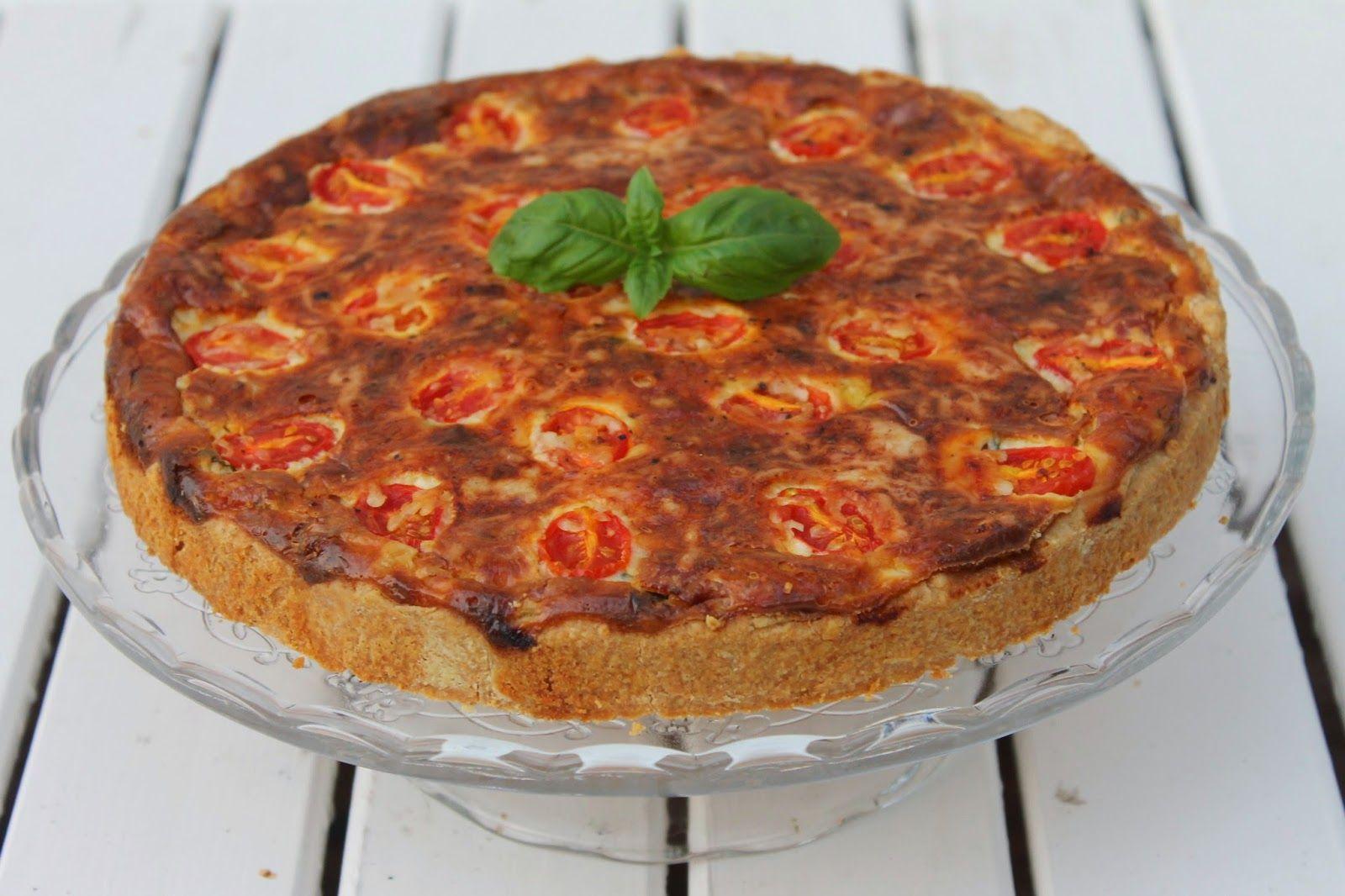 Tarun Taikakakut: Tomaatti-pekonipiirakka (26cm)