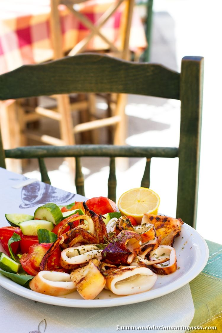 Corfu is a great foodie destination. Especially for an octopus lover...!