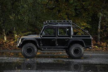 Land Rover Defender 007 Spectre movie